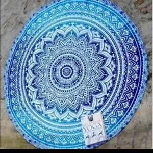Other - Blue ombre mandala Tapestry